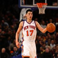 Jeremy Lin #17 of the New York Knicks