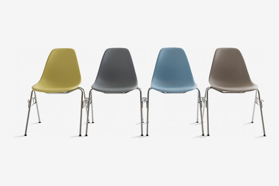 Eames Molded Plastic Stacking Side Chair
