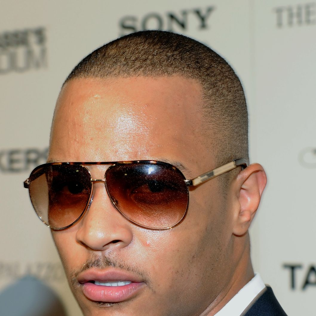 "LAS VEGAS - AUGUST 17:  Rapper and actor Tip ""T.I."" Harris arrives at the after party for a screening of the movie ""Takers"" at Lagasse's Stadium at The Palazzo August 17, 2010 in Las Vegas, Nevada. The film opens nationwide in the United States on August 27.  (Photo by Ethan Miller/Getty Images) *** Local Caption *** Tip Harris"