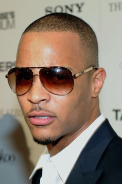 """LAS VEGAS - AUGUST 17:  Rapper and actor Tip """"T.I."""" Harris arrives at the after party for a screening of the movie """"Takers"""" at Lagasse's Stadium at The Palazzo August 17, 2010 in Las Vegas, Nevada. The film opens nationwide in the United States on August 27.  (Photo by Ethan Miller/Getty Images) *** Local Caption *** Tip Harris"""