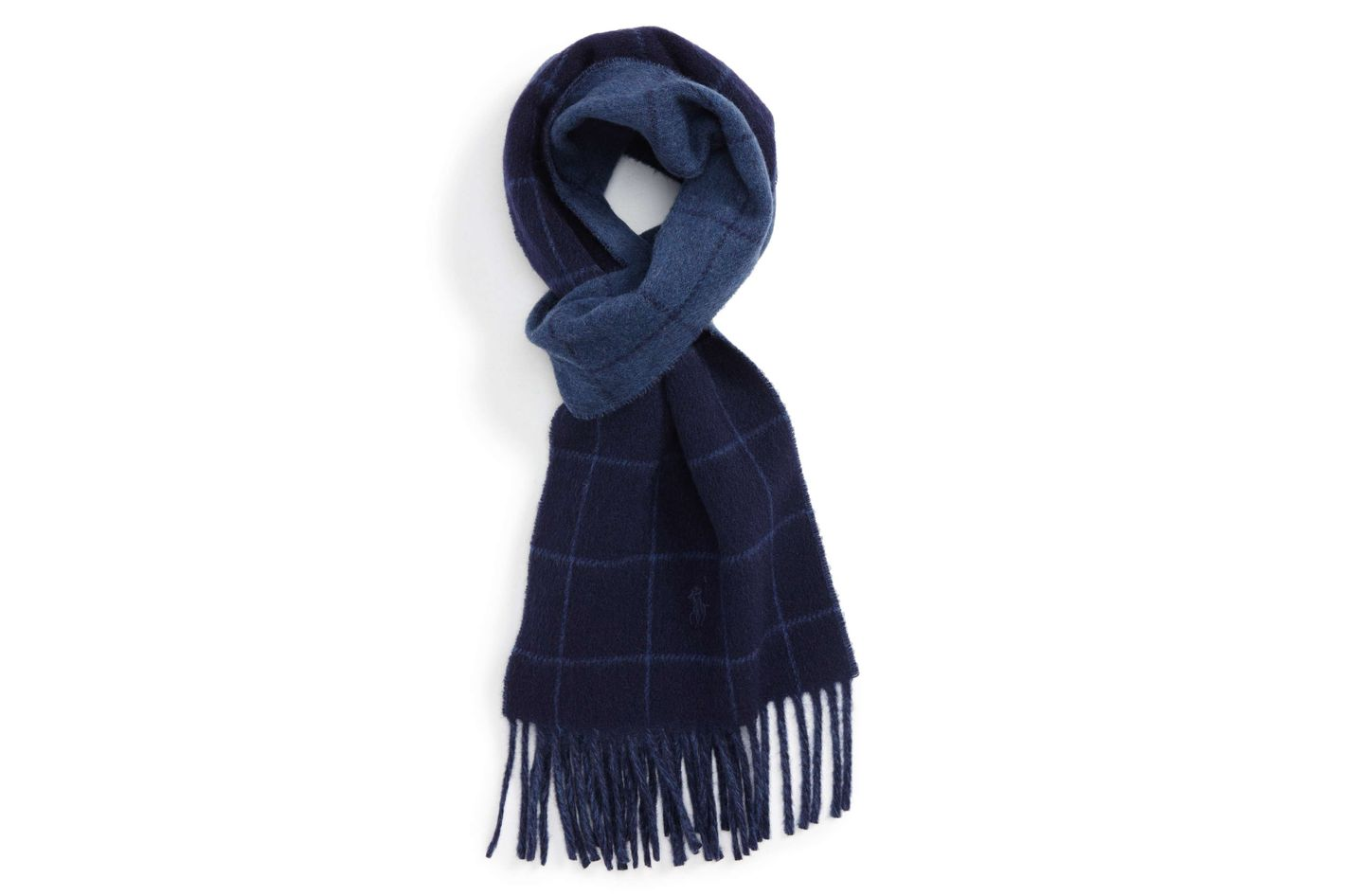 Polo Ralph Lauren Reversible Plaid Scarf