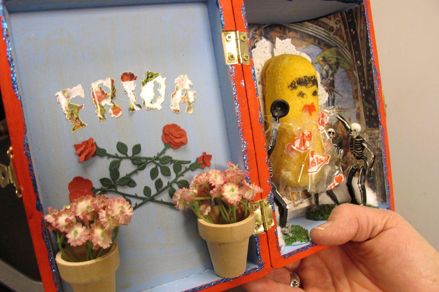 <em>Day of the Dead Twinkies</em> by Nancy Peppin.