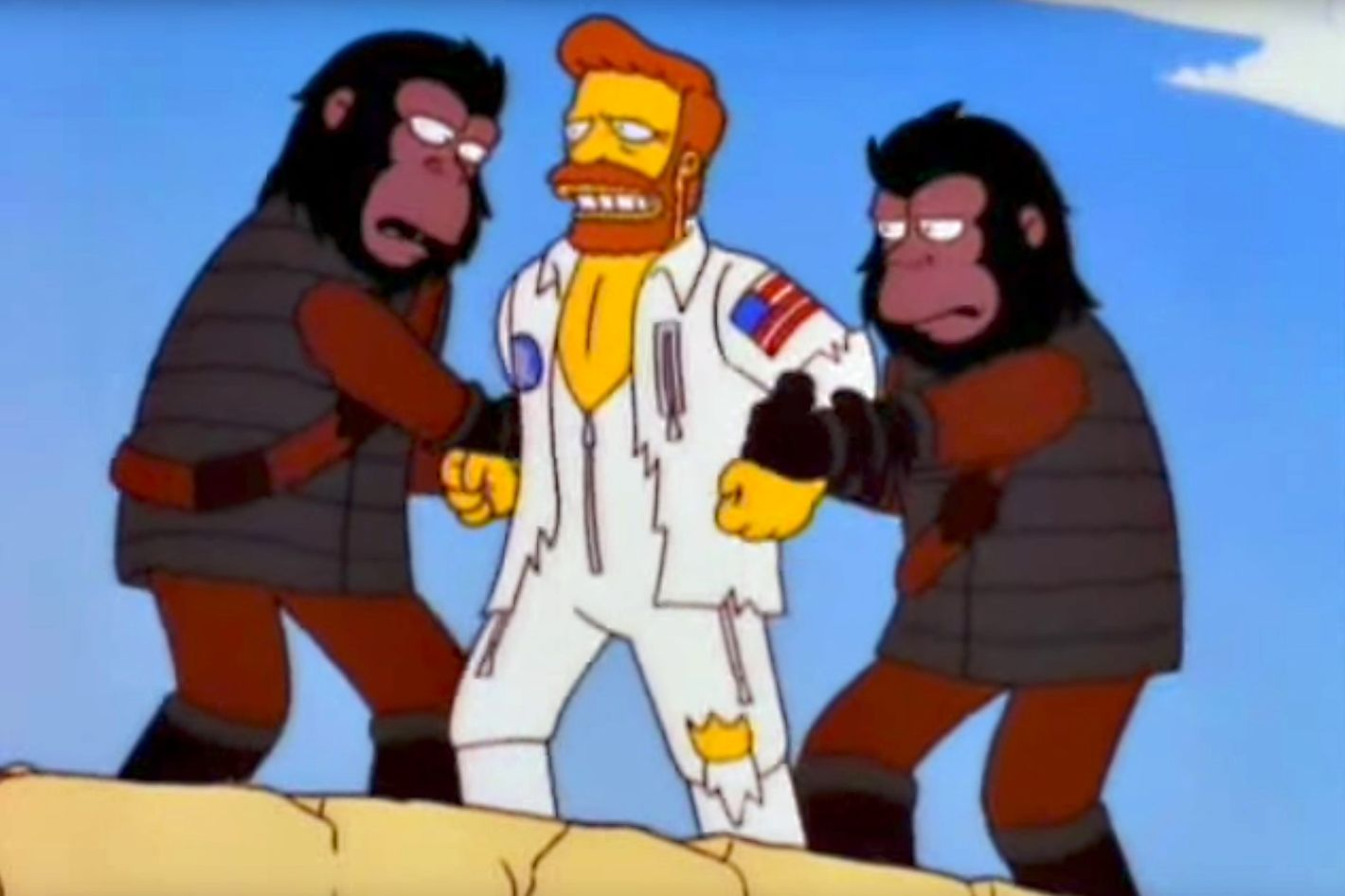the simpsons u0027 planet of the apes musical an oral history