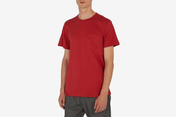 A.P.C.Pocket crew-neck cotton T-shirt