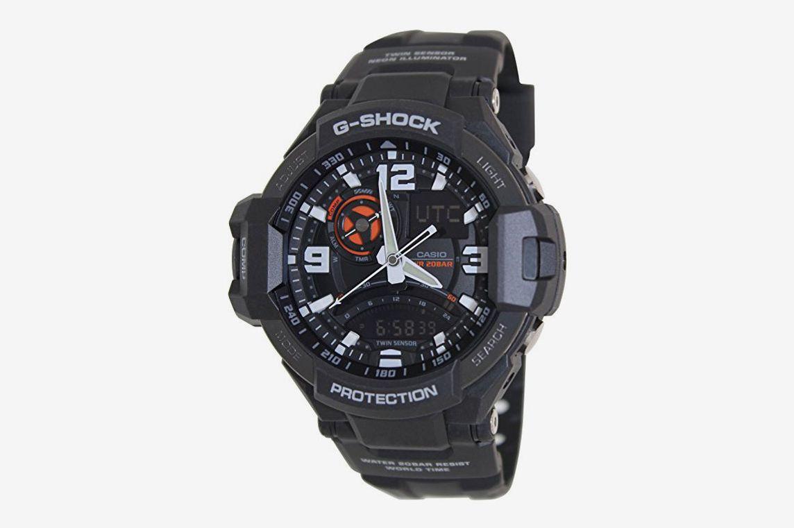 Casio G-Shock GA-1000-1A Aviation Series Men's Luxury Watch