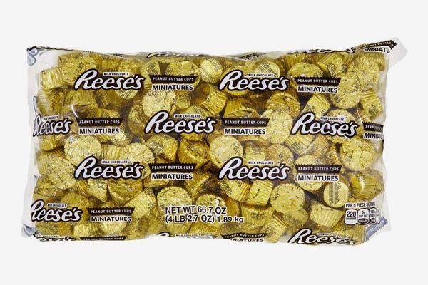 Peanut Butter Cup Miniatures, 66.7 Ounce Bulk Bag