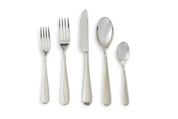 Alessi Nuovo Milano Stainless Steel Flatware, Set of 5