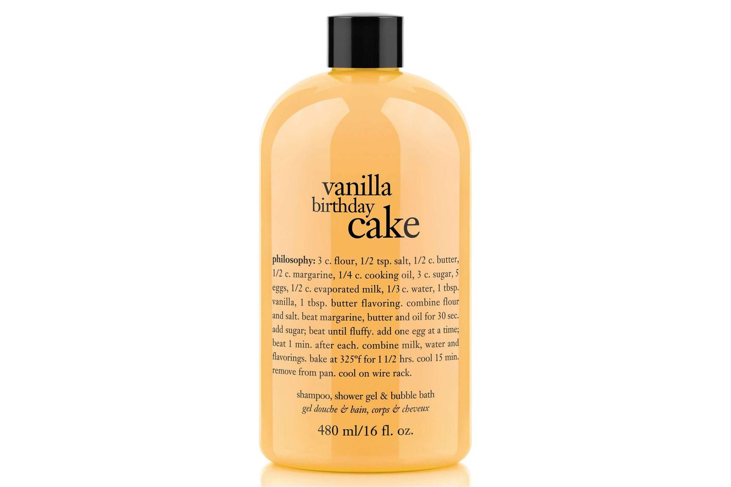 Philosophy Vanilla Birthday Cake Shower Gel, Shampoo, Bubble Bath