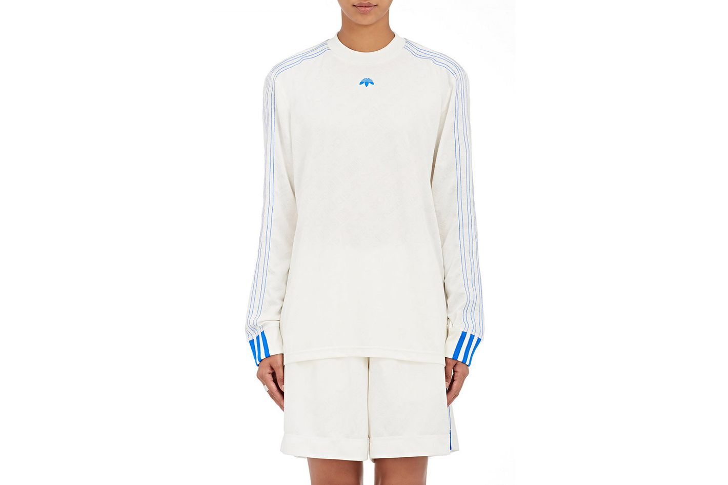 Adidas Originals by Alexander Wang Logo Long-Sleeve Soccer Top