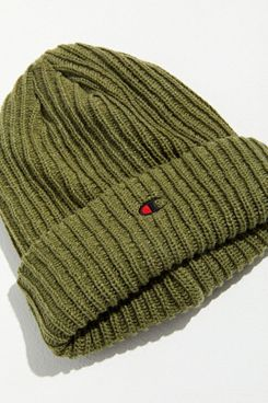 Champion UO Embroidered Logo Beanie