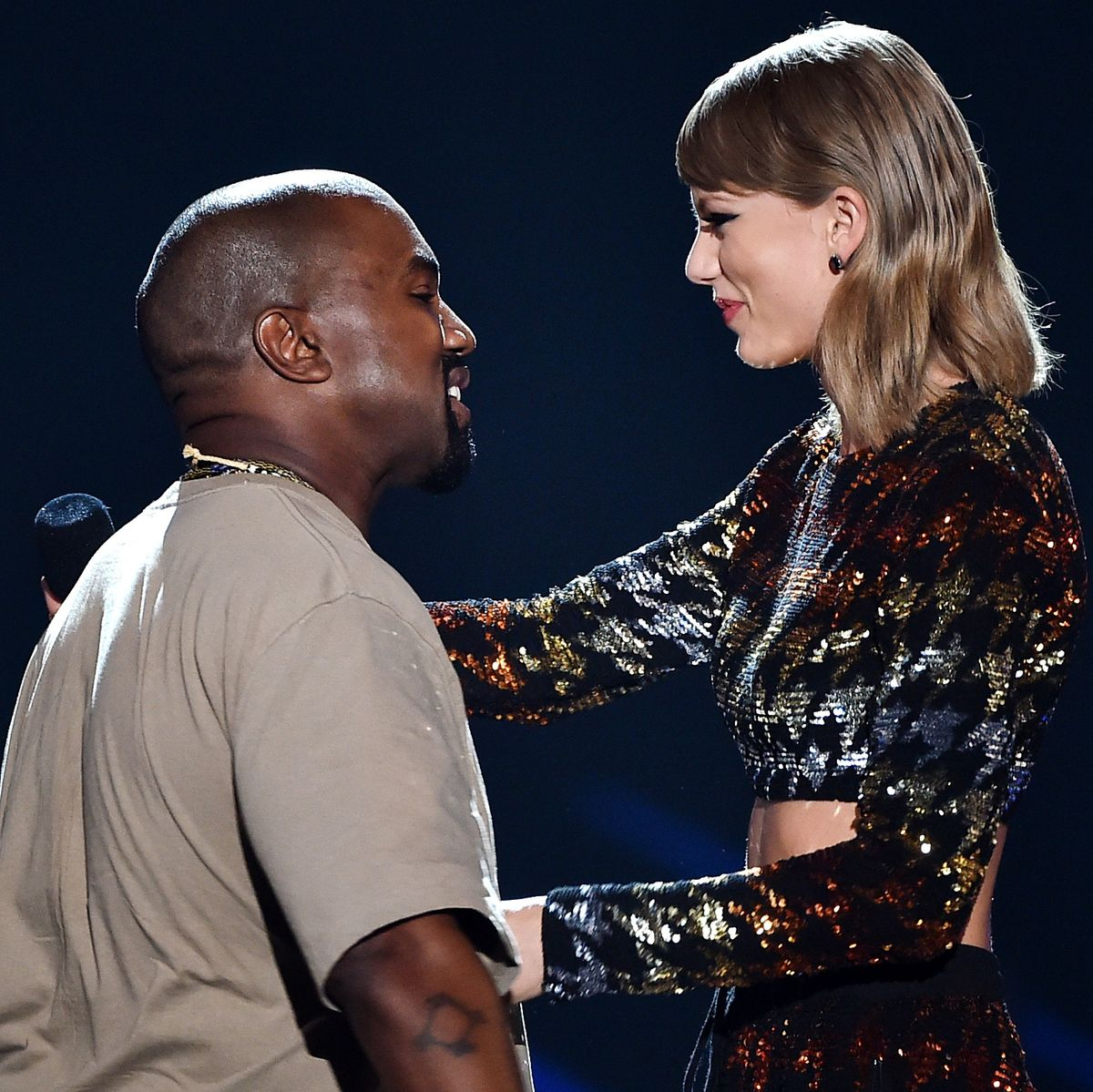 Taylor Swift S Call With Kanye West Leaked Watch Video