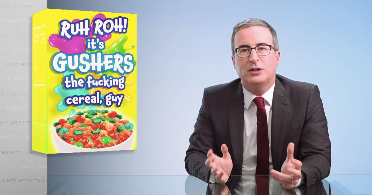 John Oliver Issues Challenge to His New Worst Enemy, Cheerios' <b>Twitter</b> Account thumbnail