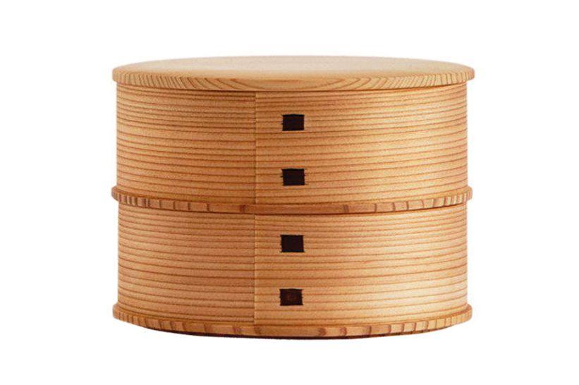 Kurikyu Magewappa Bento Box Oval