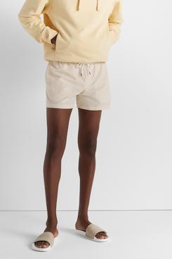 Club Monaco Arlen Striped Seersucker Swim Shorts
