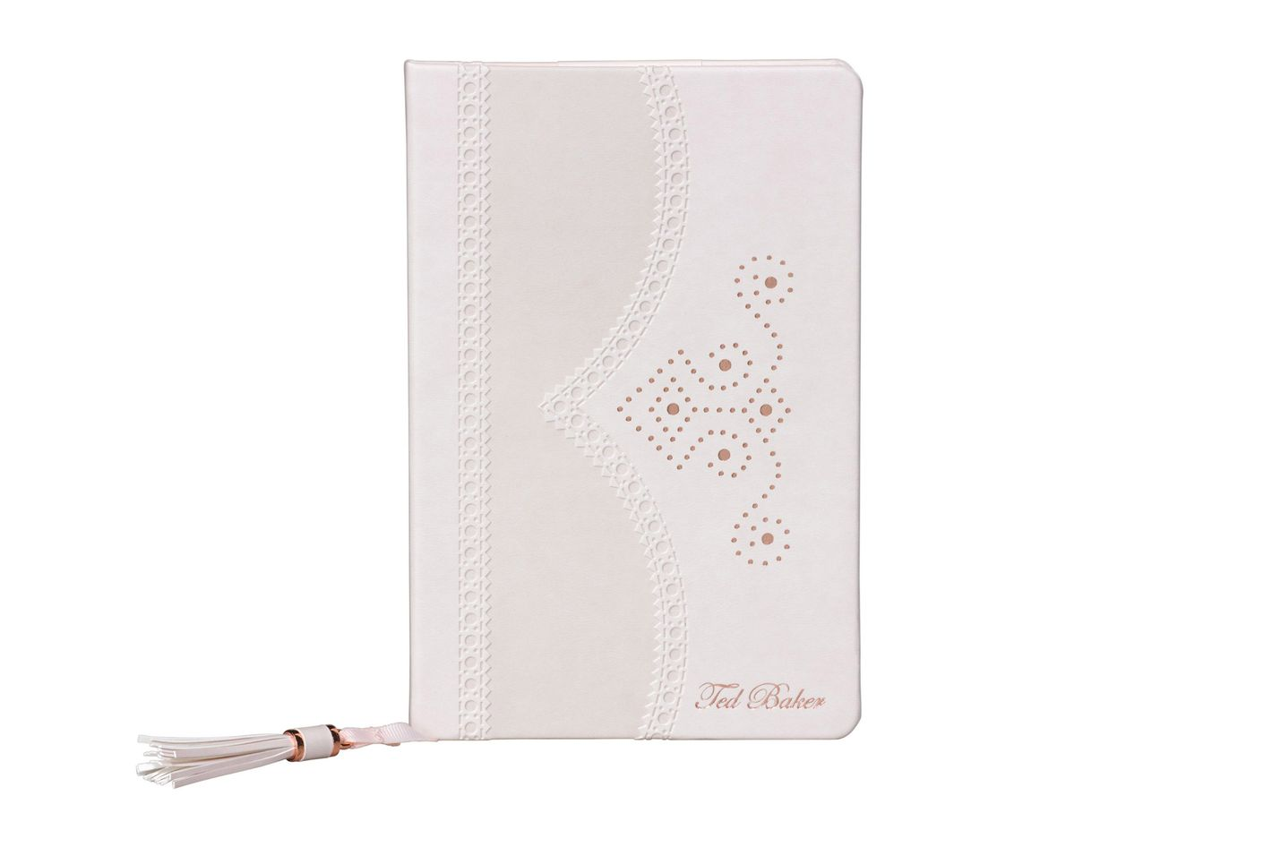 Ted Baker London Nude Brogue Citrus Bloom Nude Notebook