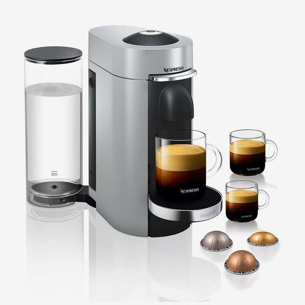 Nespresso Vertuo Plus Coffee Machine, Silver