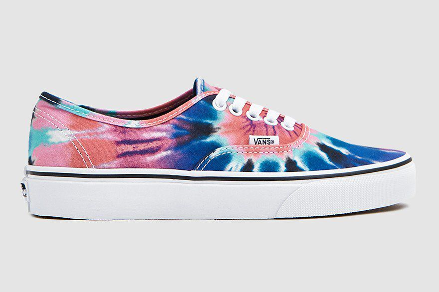 finest selection 86197 d3ef0 Vans Authentic Sneaker in Tie-Dye