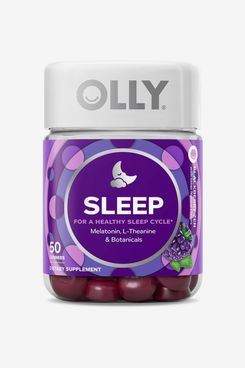 OLLY 3mg Melatonin Sleep Gummies - Blackberry Zen (50 ct)