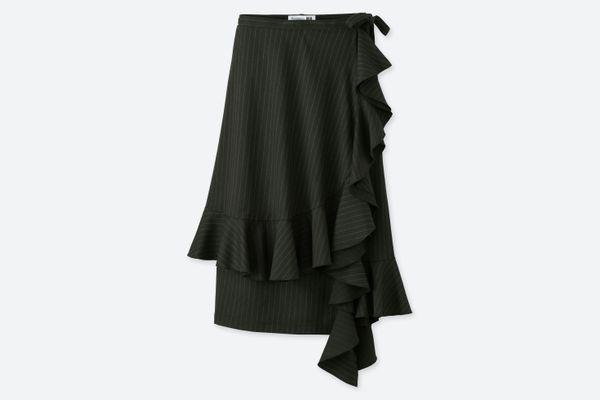J.W. Anderson x Uniqlo Ruffle Wrap Skirt