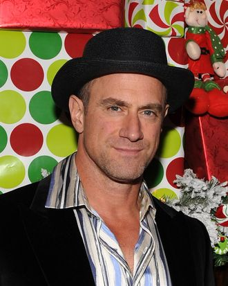 NEW YORK, NY - NOVEMBER 16: Actor Chris Meloni attends the 2011 Radio City Christmas Spectacular opening night at Radio City Music Hall on November 16, 2011 in New York City. (Photo by Marc Stamas/Getty Images)