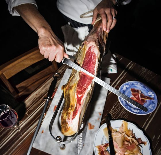 """""""You don't put a whole serrano ham on the table every night."""""""