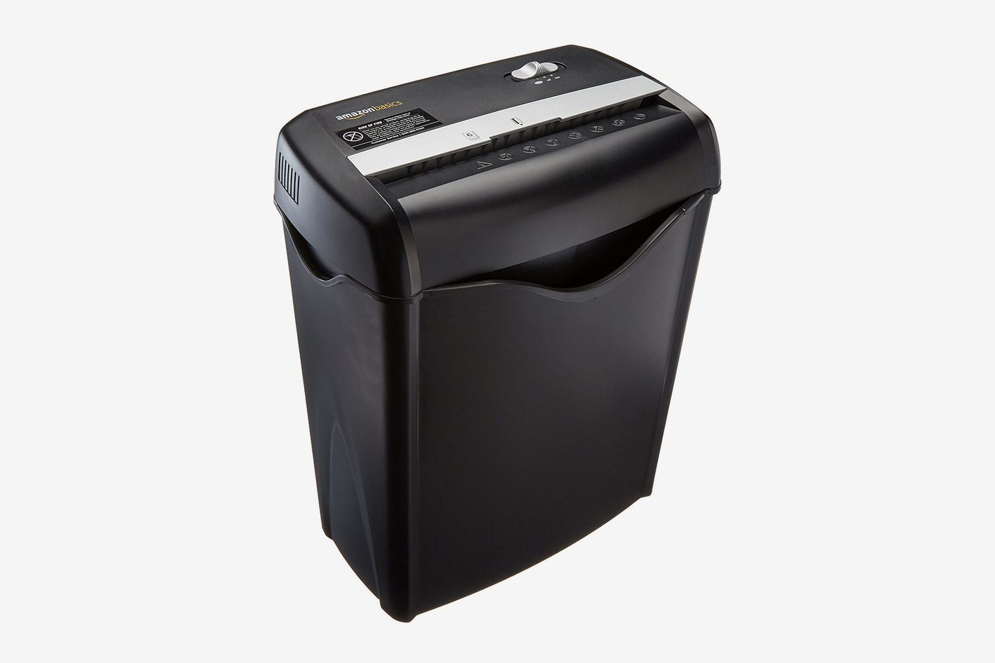 Basics 6 Sheet Cross Cut Paper And Credit Card Shredder