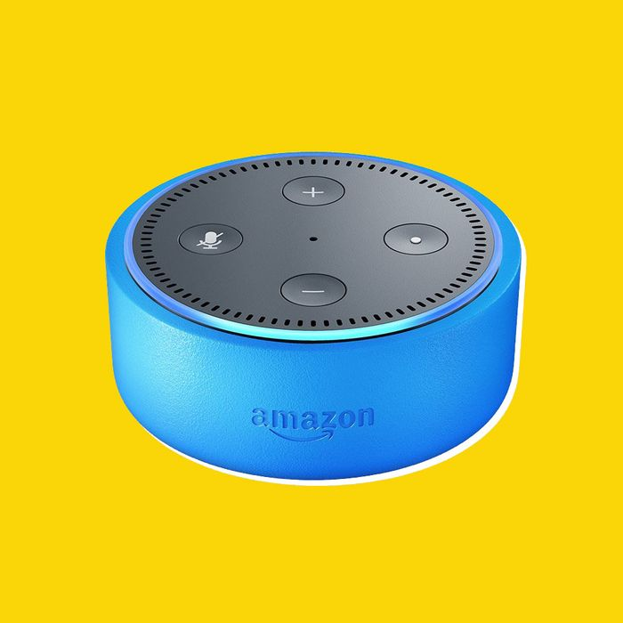 The Echo Dot Kids Edition comes with a colorful plastic cover.