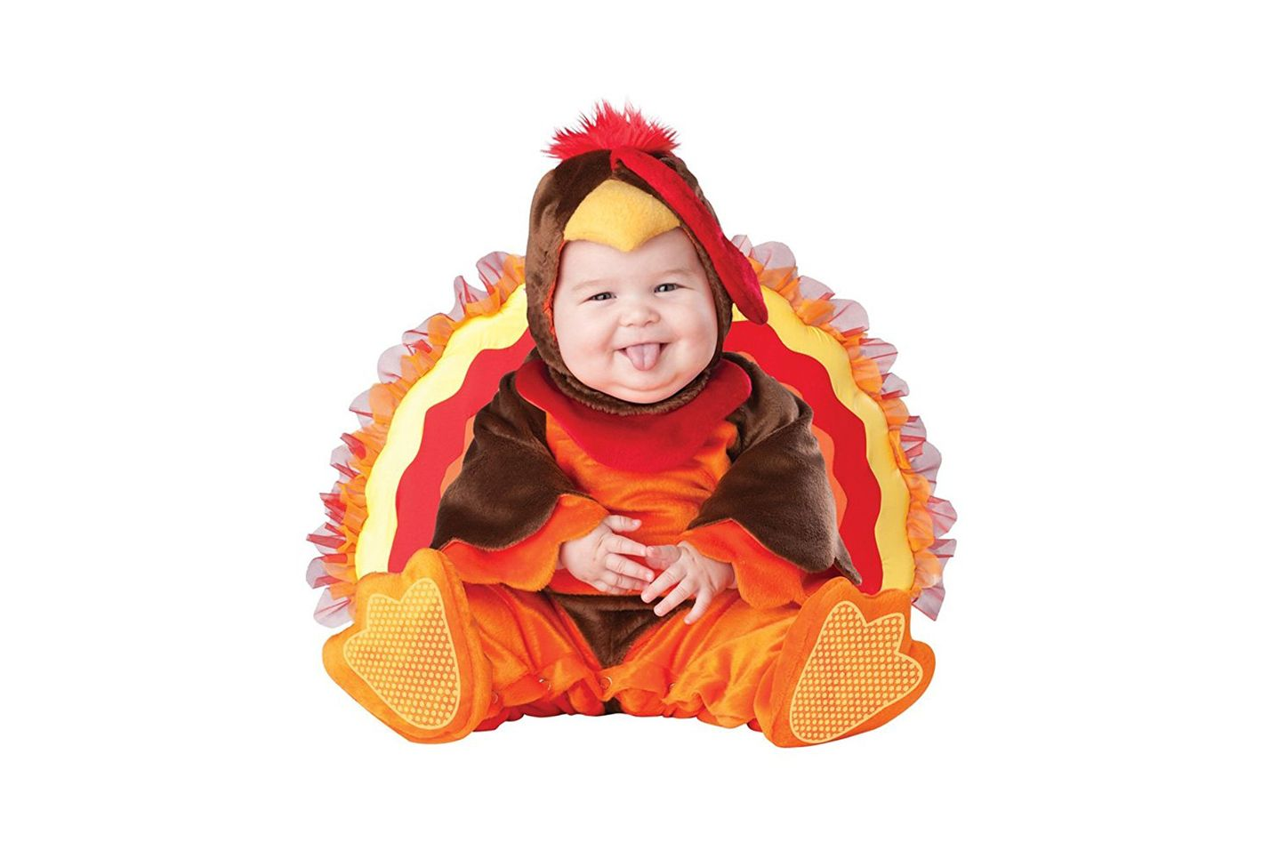 InCharacter Baby Lil' Gobbler Turkey Costume