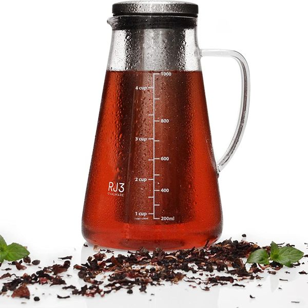 Ovalware RJ3 Cold Brew Maker and Tea Infuser