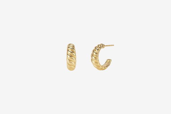 Mejuri Croissant Dôme Earrings