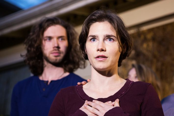 Amanda Knox let Donald Trump know why she didn't vote for him
