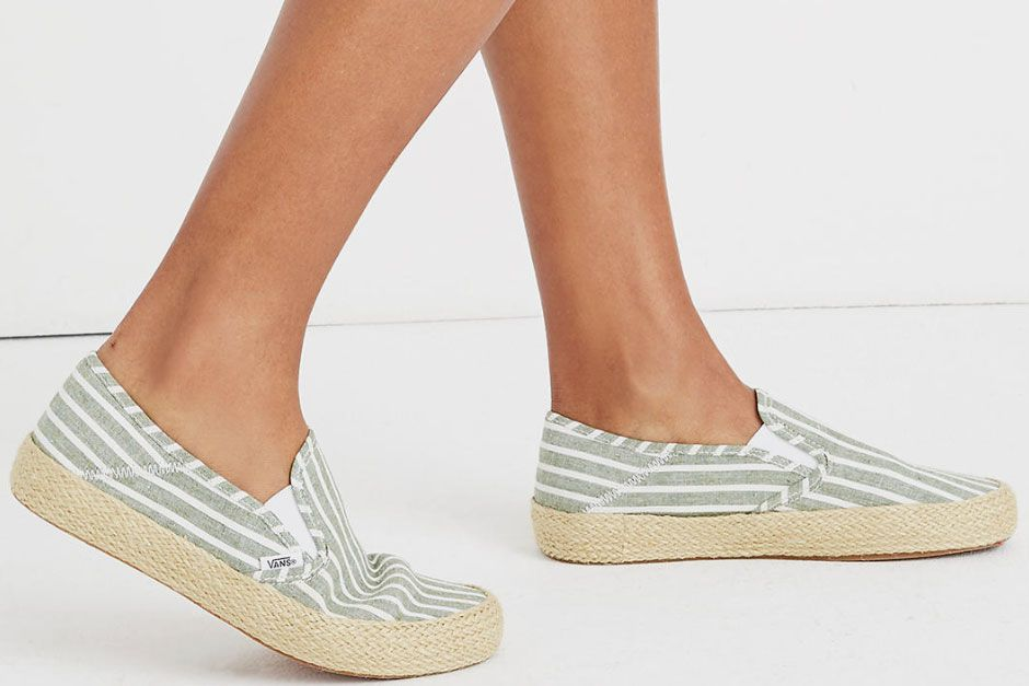 Vans Unisex Slip-On Espadrille Sneakers