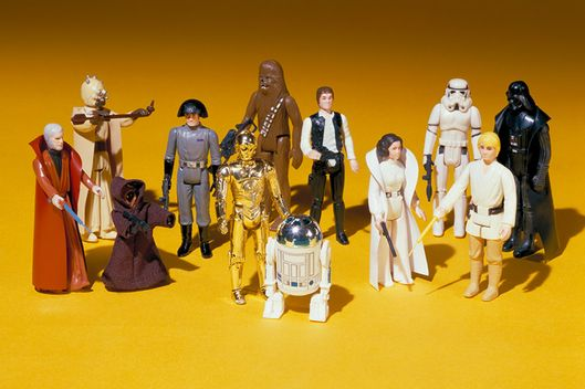 Image result for kenner star wars first 4