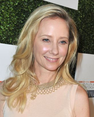 Actress Anne Heche attends Step Up Women's Network 10th annual Inspiration Awards at The Beverly Hilton Hotel on May 31, 2013 in Beverly Hills, California.