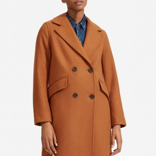 Everlane The Italian ReWool Overcoat