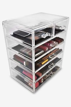 Sorbus Cosmetics Makeup and Jewelry Big Storage Case Display