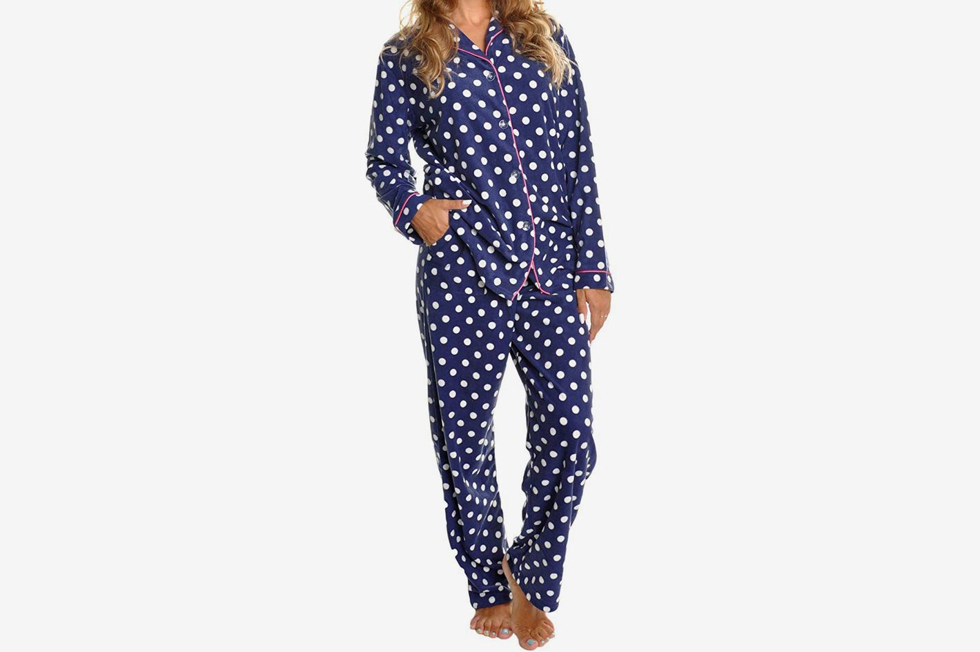 15b557525bc Angelina COZY Fleece Pajama Set