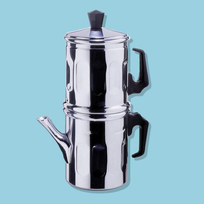 Ilsa Neapolitan 6 Cup Aluminum Coffee Maker 2018