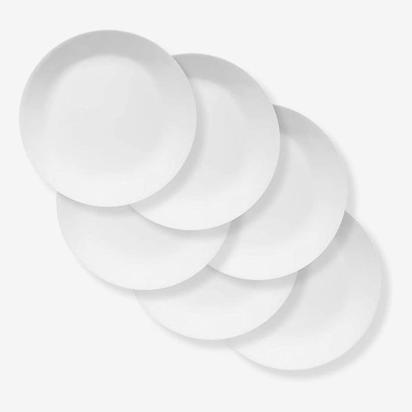 "Corelle Chip Resistant Extra Large 11"" Dinner Plate 6-piece Set"