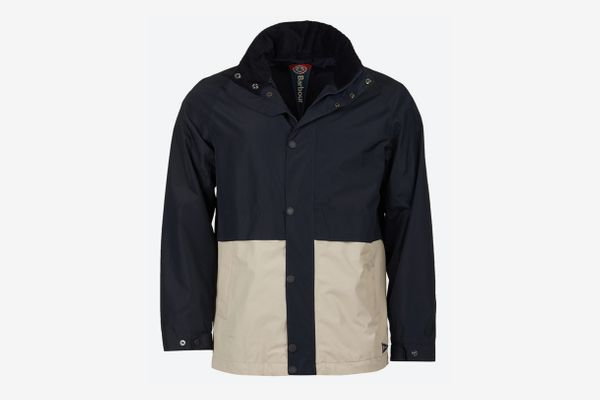 Barbour Dolan Colorblocked Rain Jacket