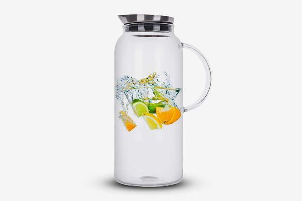 Purefold 68-Ounce Glass Pitcher With Lid