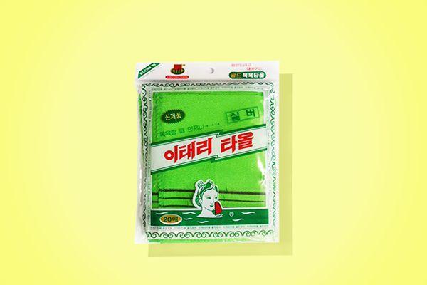 Genuine Korean Exfoliating Scrub Bath Mitten, 20-pack