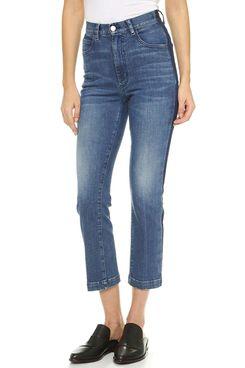 Rachel Comey Women's Cropped Tux Jeans