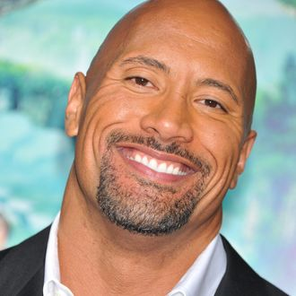 Actor Dwayne Johnson arrives at the premiere of