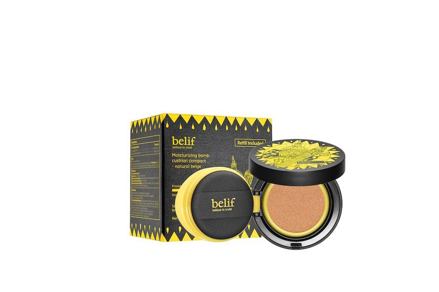 belif Moisturizing Bomb Cushion Compact Broad Spectrum SPF 50 Light/Medium