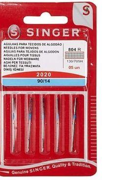 5 Original Singer Sewing Machine Needles