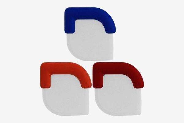 Bogo Brands Nylon Plastic Pot and Pan Scraper with Grip (set of 3)