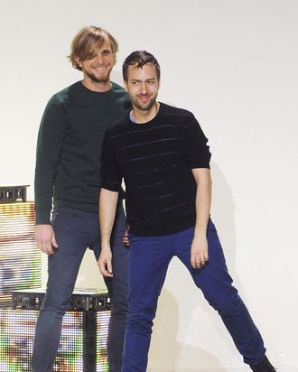 Peter Pilotto and Christopher De Vos.