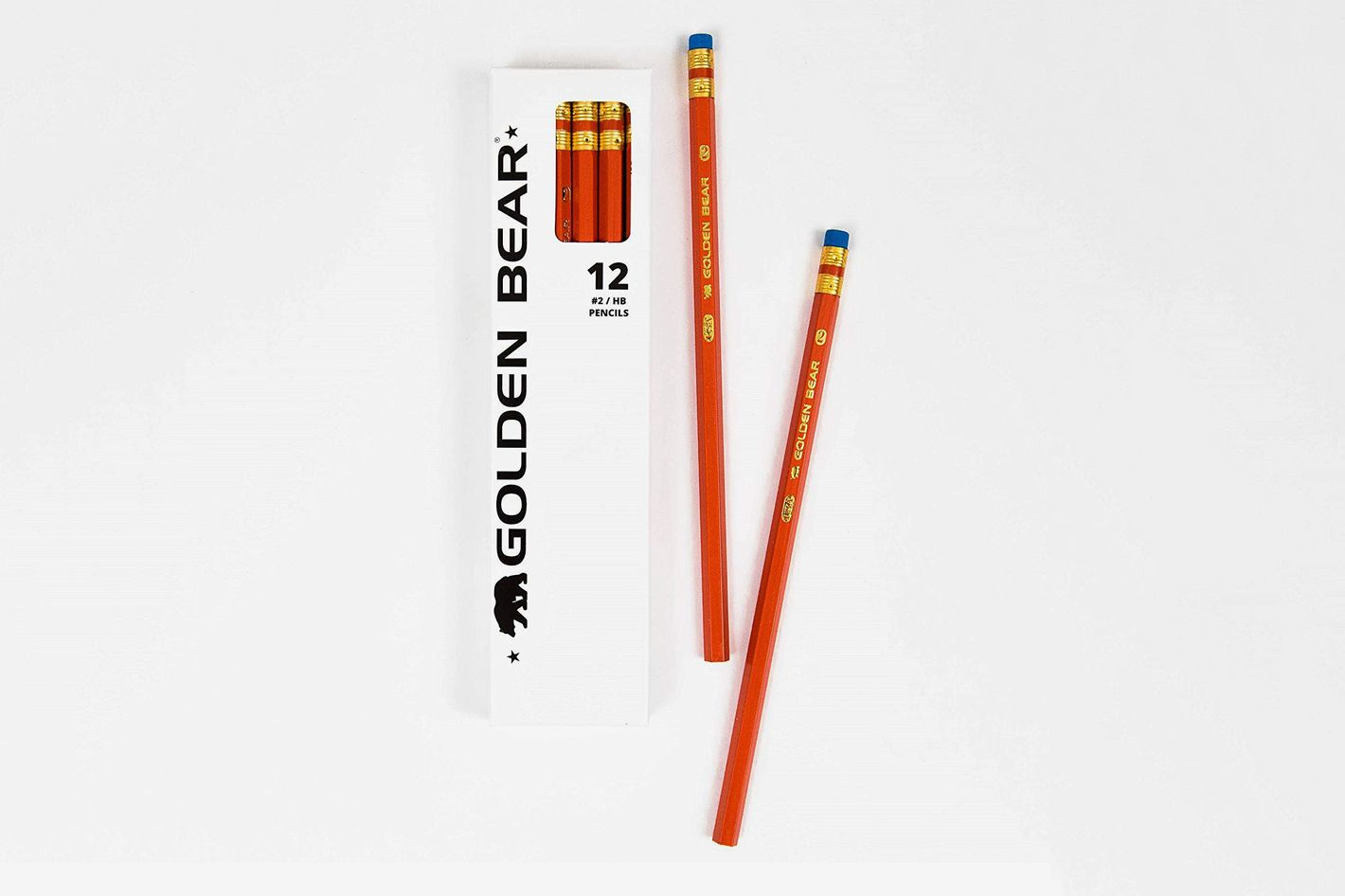 Palomino Golden Bear Orange #2 Pencils, 36-Pack