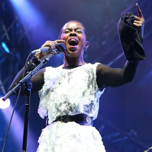 ROTHBURY, MI - JUNE 28:  The Lauryn Hill Incident performs on Day 3 of the 2014 Electric Forest Festival on June 28, 2014 in Rothbury, Michigan.  (Photo by Jeff Kravitz/FilmMagic for Electric Forest)
